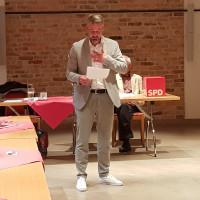 Michael Ernst bei seiner Vorstellung